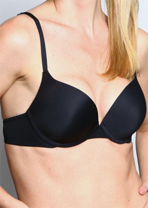 BASIC Push-up Bra (Black)