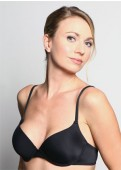 BASIC Padded Bra (Black) Full view