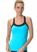 Power-X Sports Top turquoise front